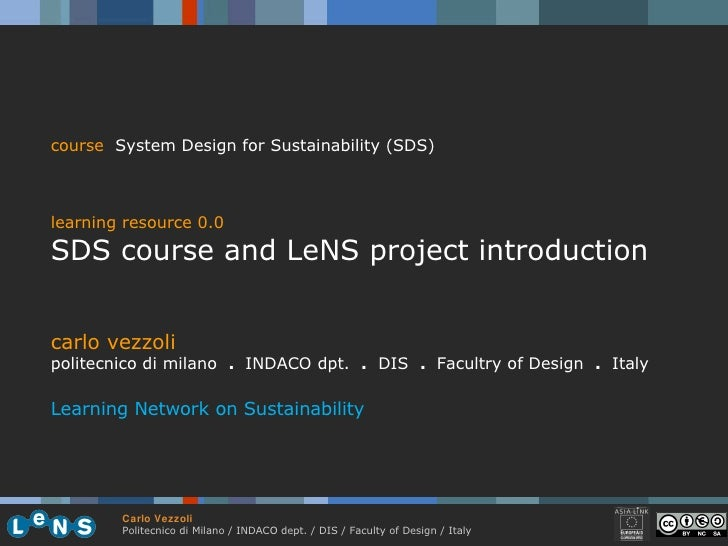 0.0 Sds Course Introduction