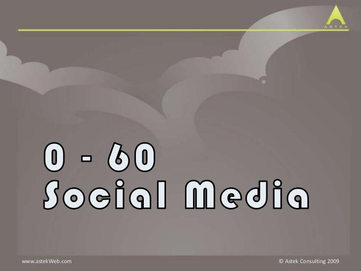 Social Media: 0-60
