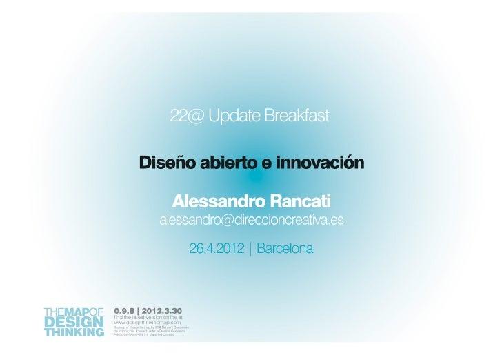 Diseño abierto e innovación