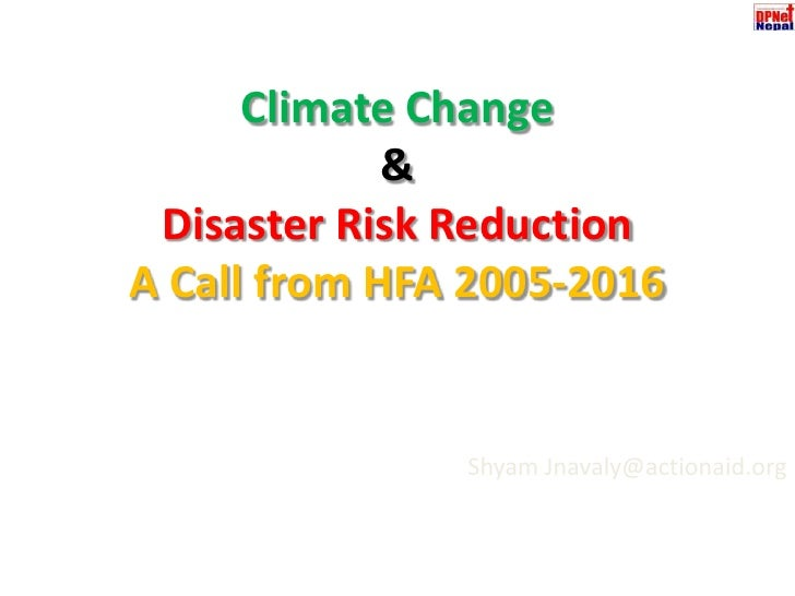 0. aandp net presentation on hfa climate change and drr