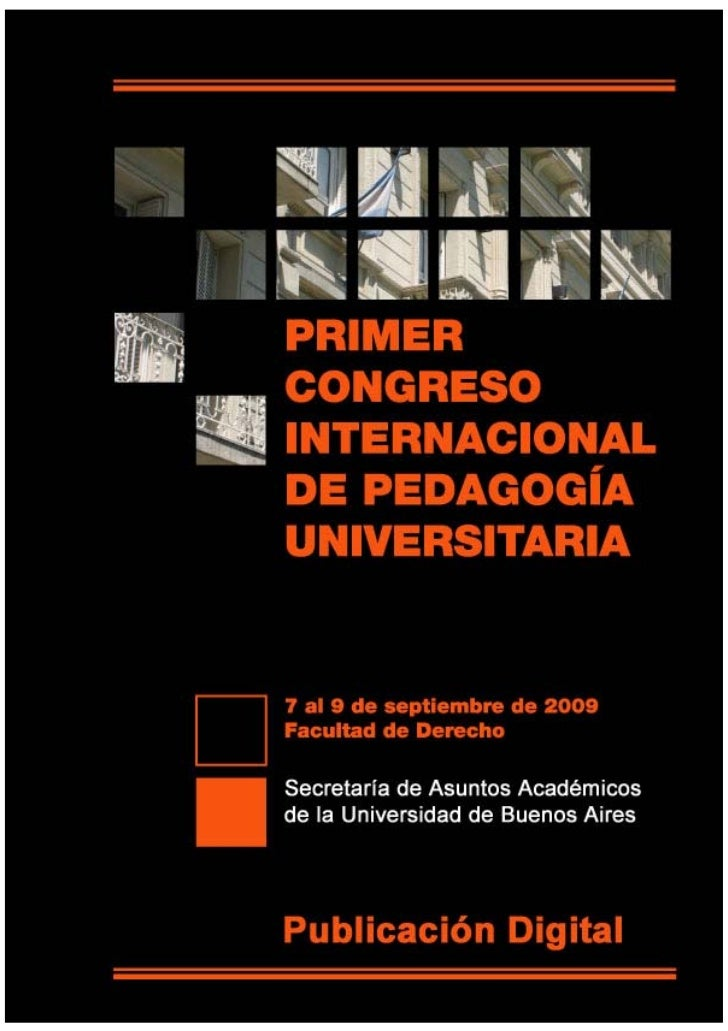 0. congreso pedagogía universitaria
