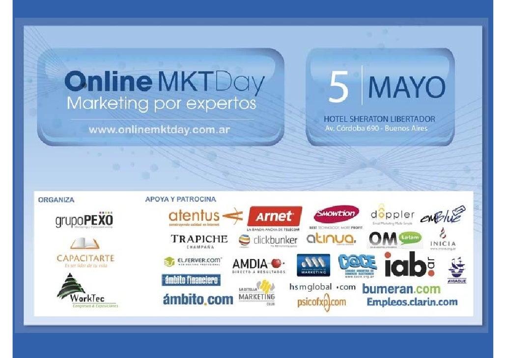 Online Marketing Day                              Julián M. Drault Online Marketing Day