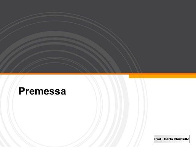 0   Premessa