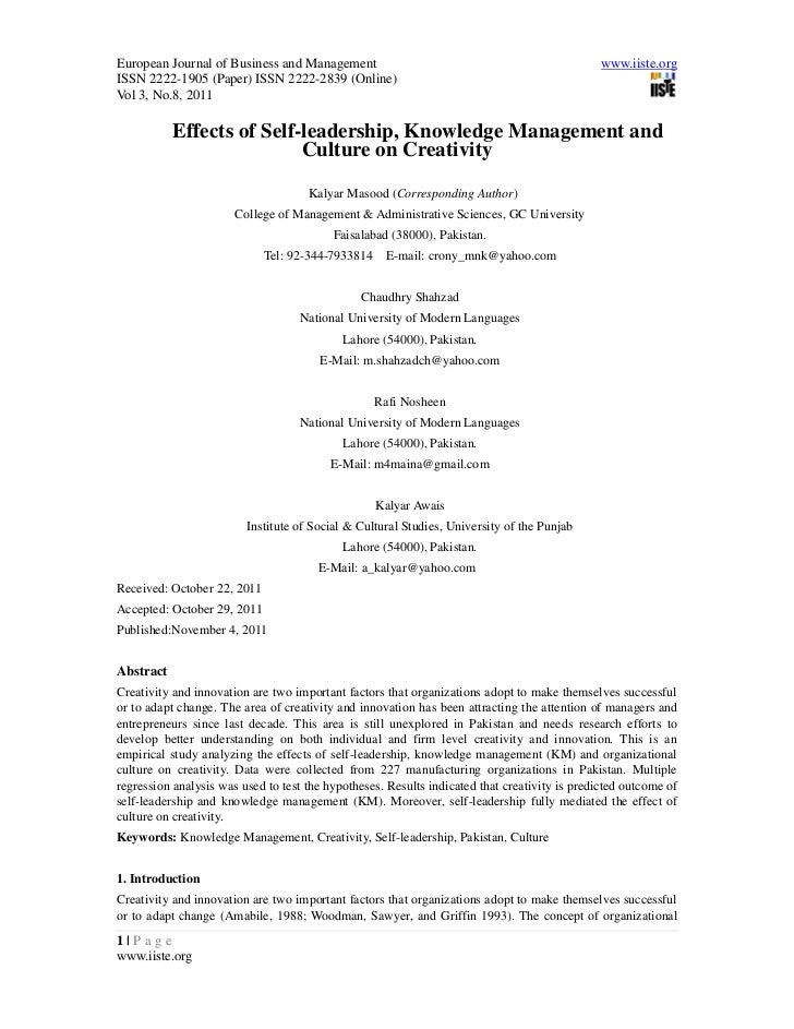European Journal of Business and Management                                                    www.iiste.orgISSN 2222-1905...