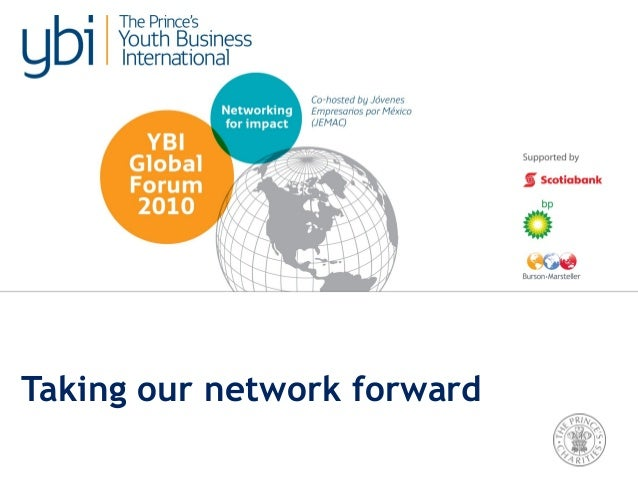 Taking our network forward
