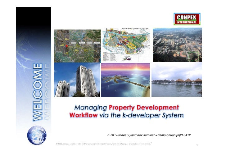 Managing Property Development              Workflow via the k-developer System                                            ...
