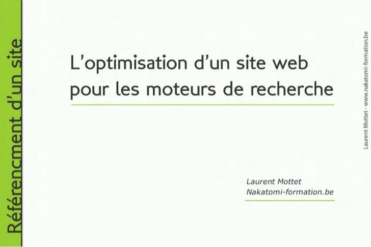 Formation référencement : définition des abréviations utilisées en référencement d'un site web. Formateur Laurent Mottet