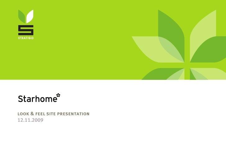 Stratigo - Starhome web-presentation