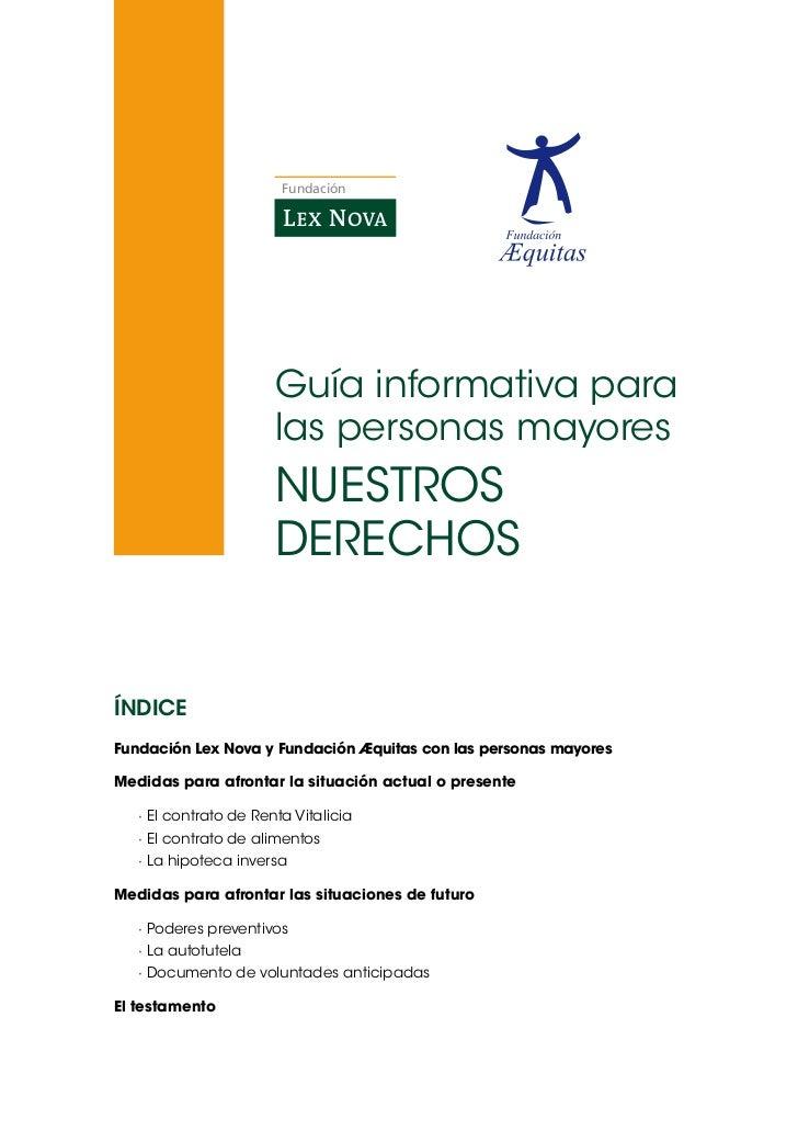 Fundación                        Guíainformativapara                        laspersonasmayores                      ...