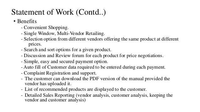 Online Shopping Documentation SRS