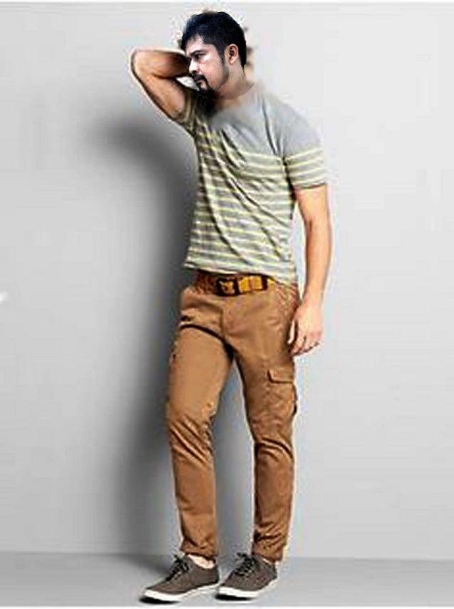 Высокий человек одежда