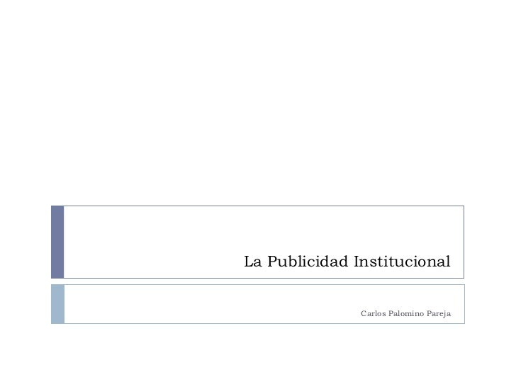 0005 taller de publicidad ii - la publicidad institucional- 0005