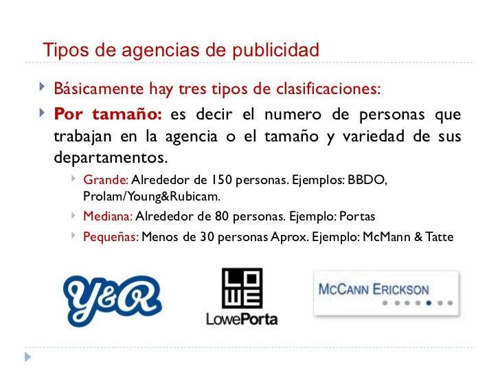 0007 taller de publicidad i la agencias de publicidad semana07 for Agencia de publicidad
