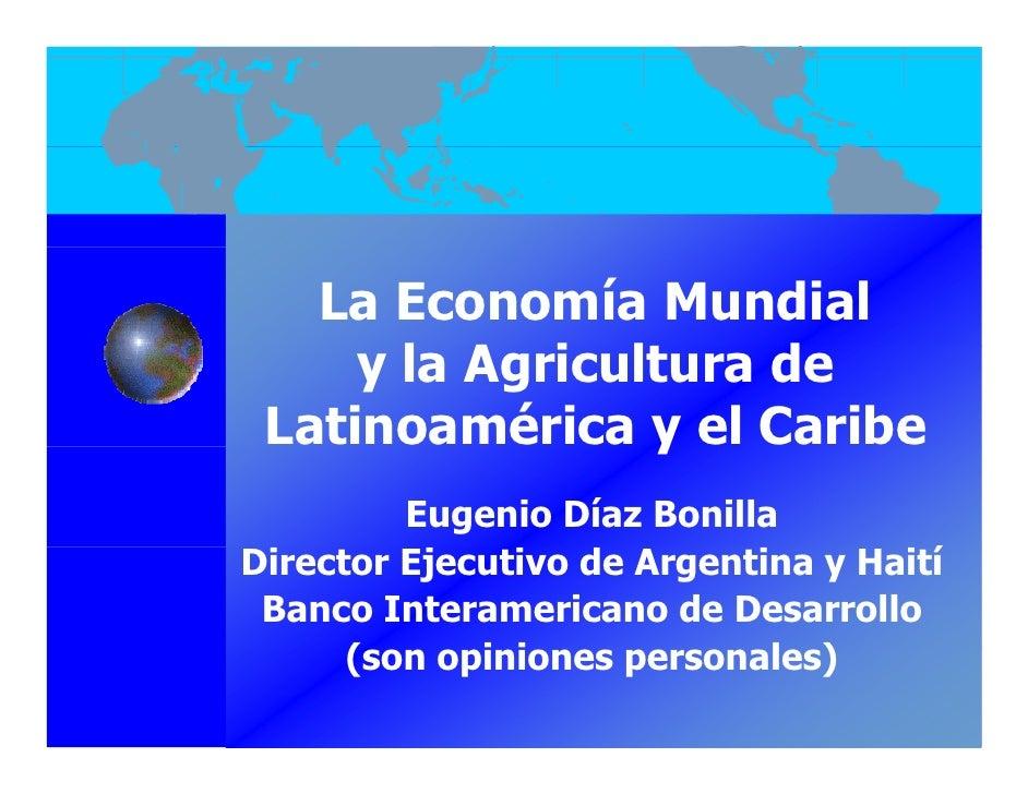 001  el futuro de la agricultura en lac - e diaz-bonilla