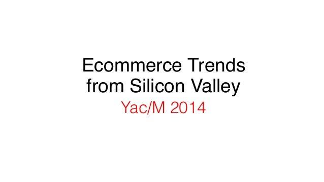 Marvin Liao E-commerce Trends