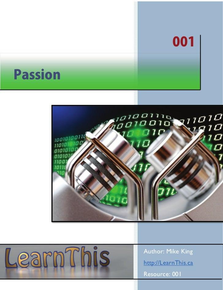 001 passion