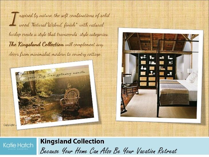 Kingsland Collection - furniture designs