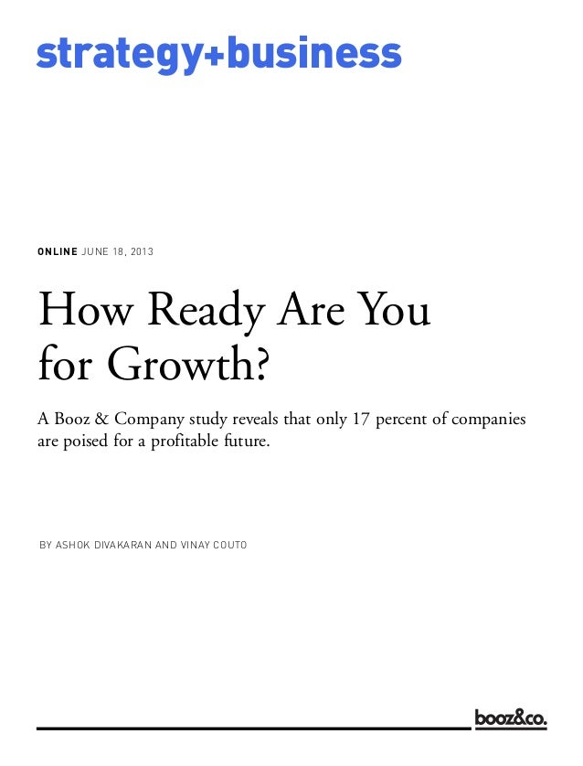 How Ready Are You for Growth?