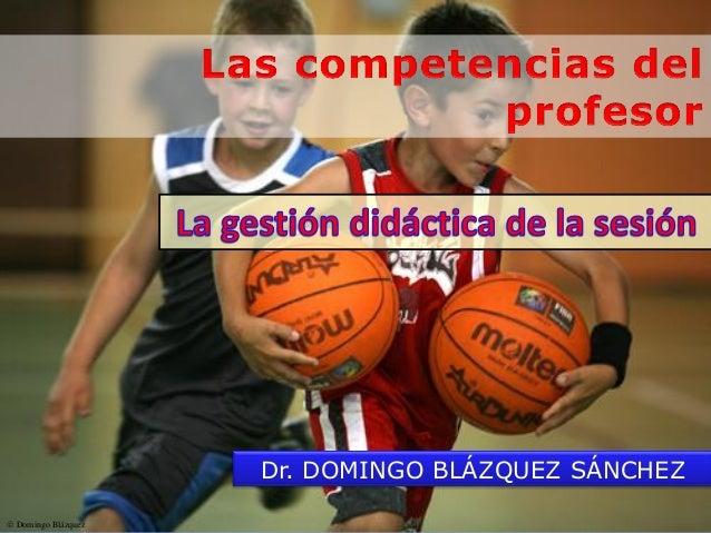 Domingo Blázquez Dr. DOMINGO BLÁZQUEZ SÁNCHEZ
