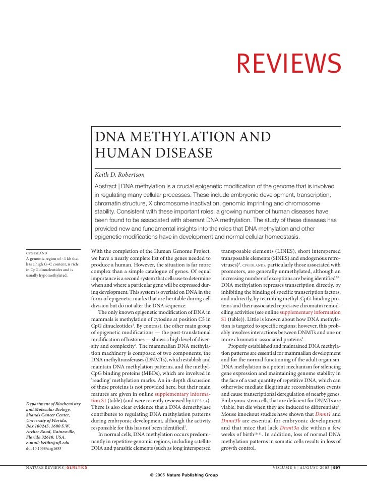 002 & 003   Dna Methyl And Human Disease 14