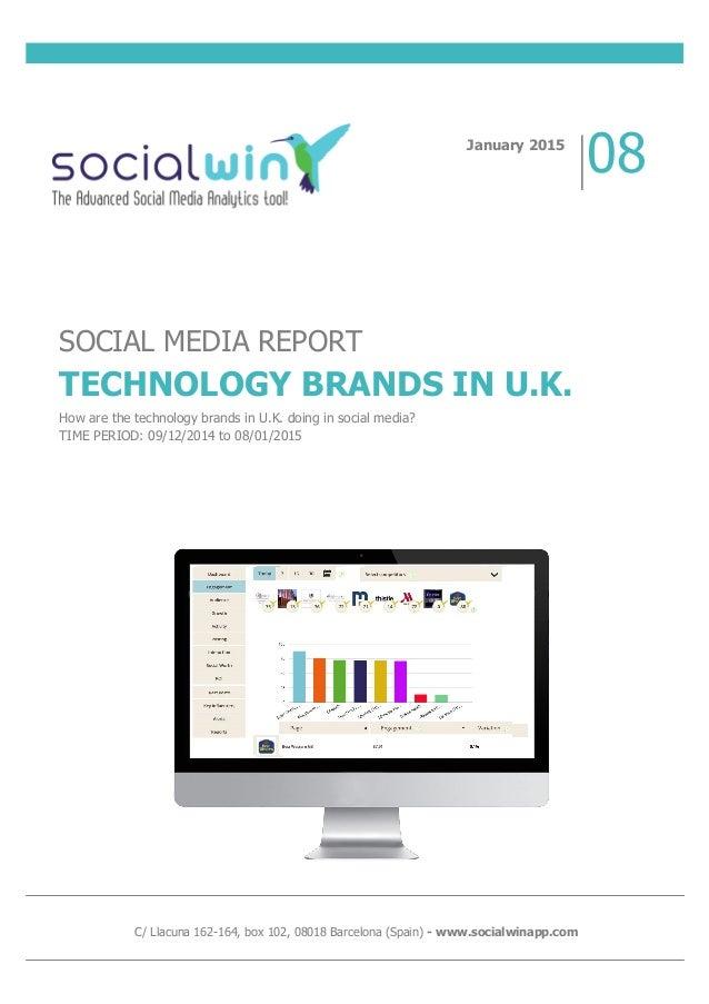Social media report technology uk for Design hotel chain