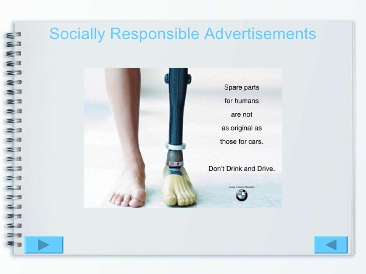 advertising and social responsibility in the