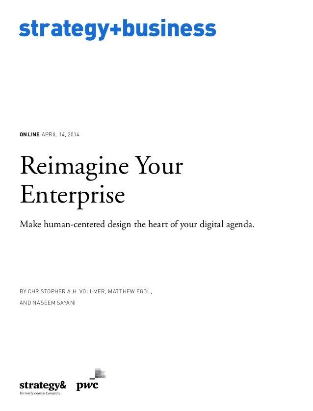 Reimagine Your  Enterprise