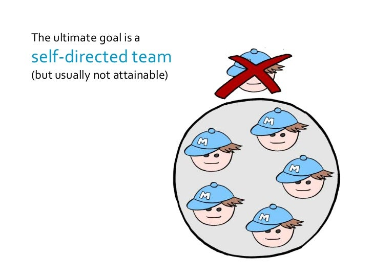 self managing work teams essay The tendency toward defective decision making within self-managing teams: the relevance of groupthink for the 21st  patterns in self-managing work teams.