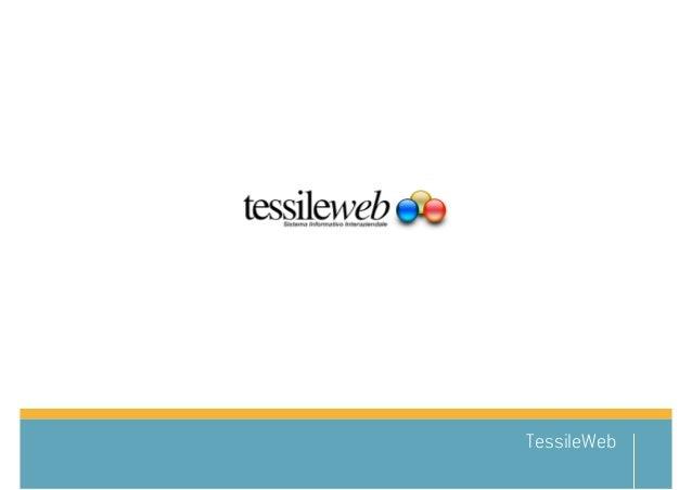 Tessileweb – sistema informativo interaziendale