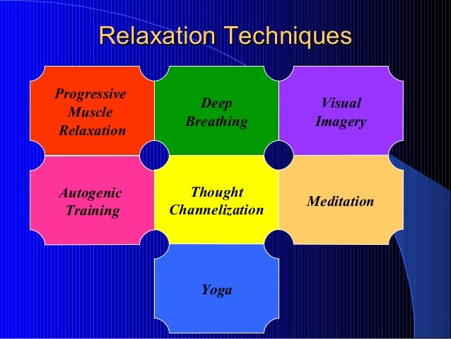 Relaxation Techniques for Depression