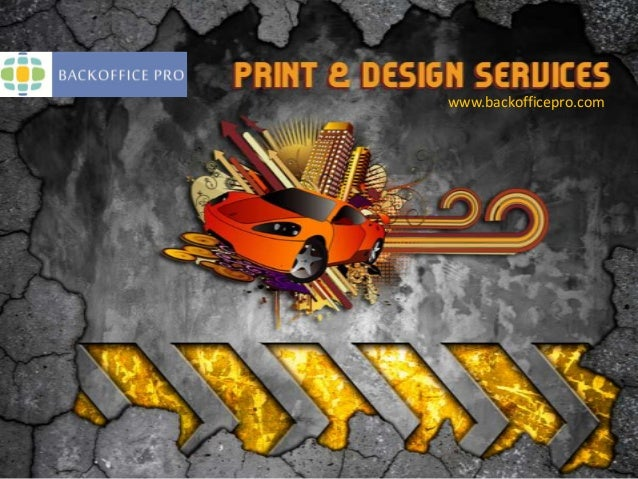 Print and Design Services