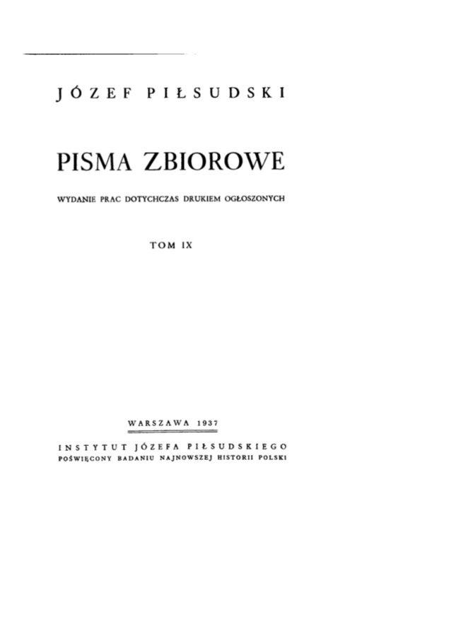 """Antiparlamentarismus der Sanacja Konflikt der Sanacja mit dem Sejm. Auszüge aus dem Aufsatz Pi_sudskis """"Der Boden des Auge..."""