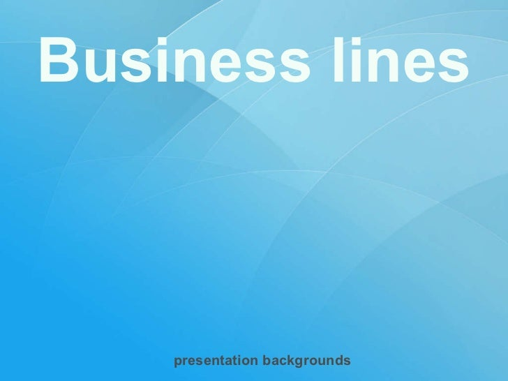 Business lines presentation backgrounds