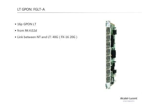 Alcatel Lucent Gpon Technology Training 2