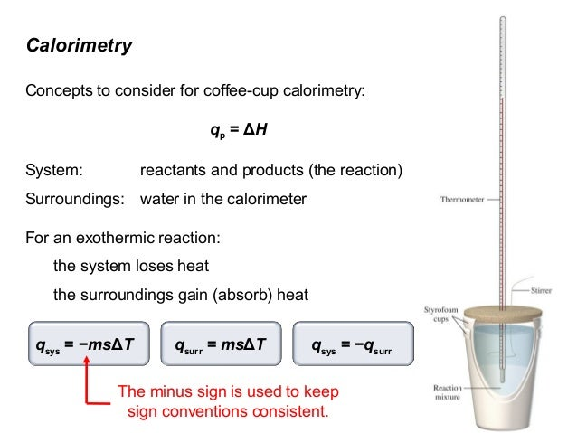 calorimeter lab answers 6 03 Calorimetry and specific heat lab 6) begin heater the transfer the metal from the test tube to the calorimeter 14) re-cover the cup.