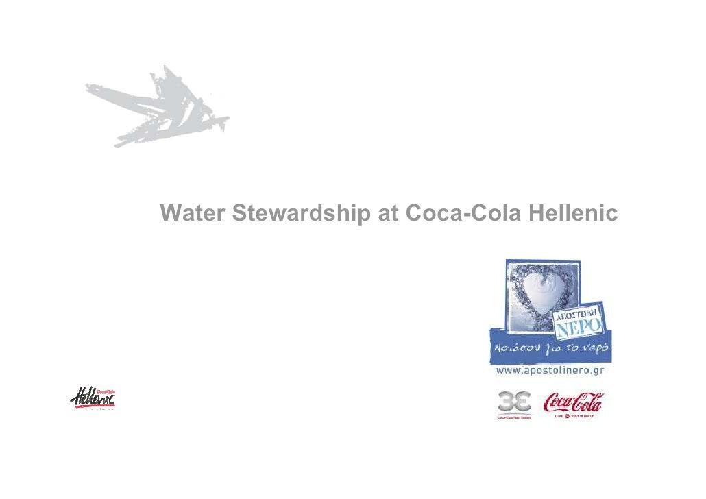 Water Stewardship at Coca-Cola Hellenic