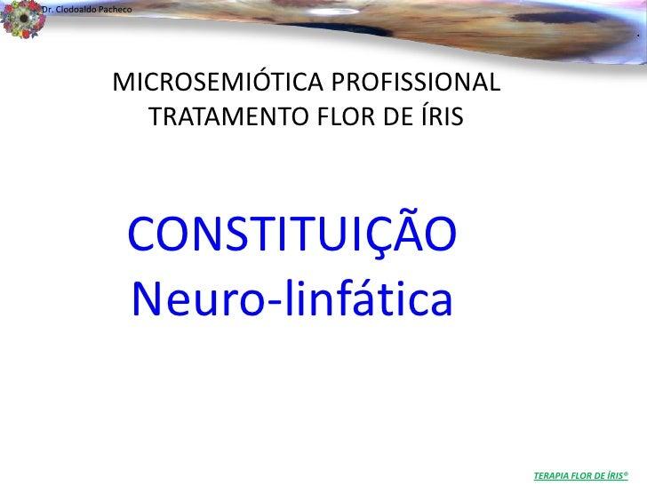 Dr. Clodoaldo Pacheco                                                                      .                MICROSEMIÓTICA...