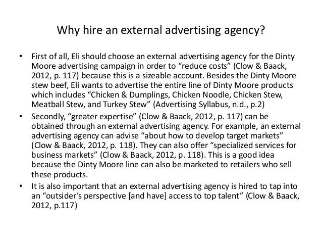 case study of advertising agency