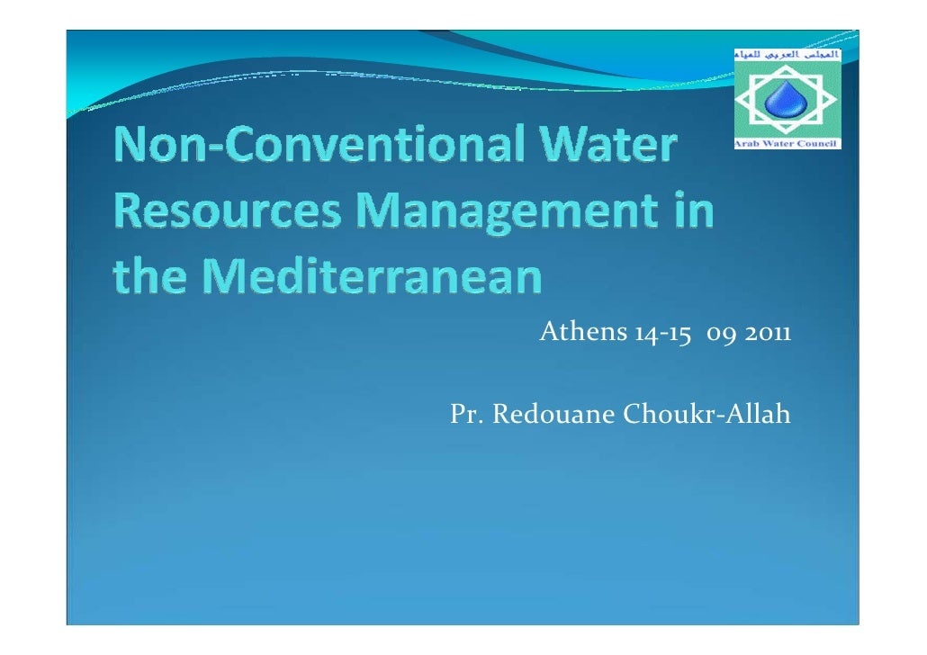 Athens 14-15 09 2011Pr. Redouane Choukr-Allah