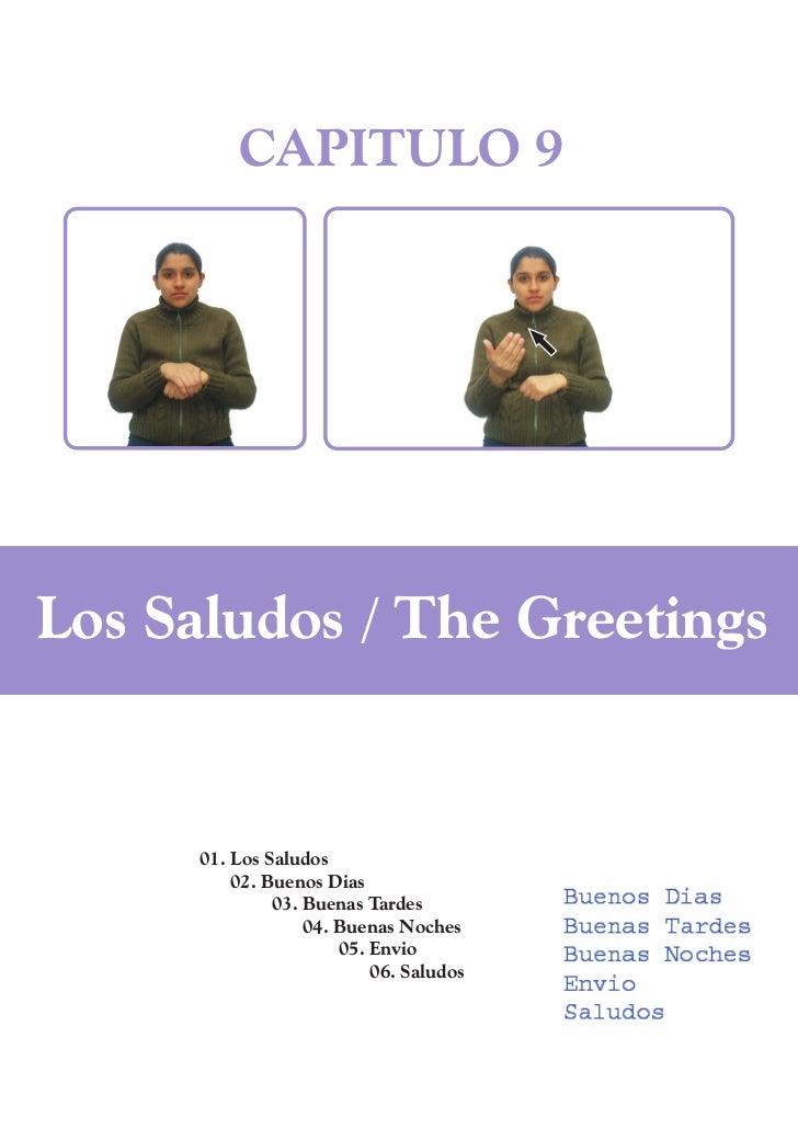 CAPITULO 9Los Saludos / The Greetings      01. Los Saludos          02. Buenos Dias               03. Buenas Tardes       ...