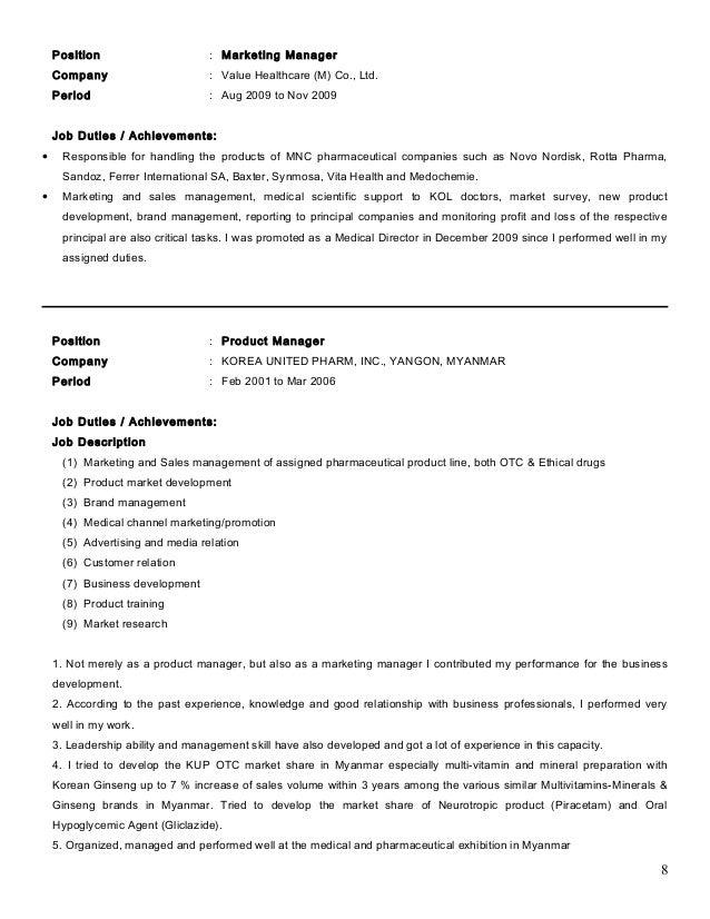 Resume company