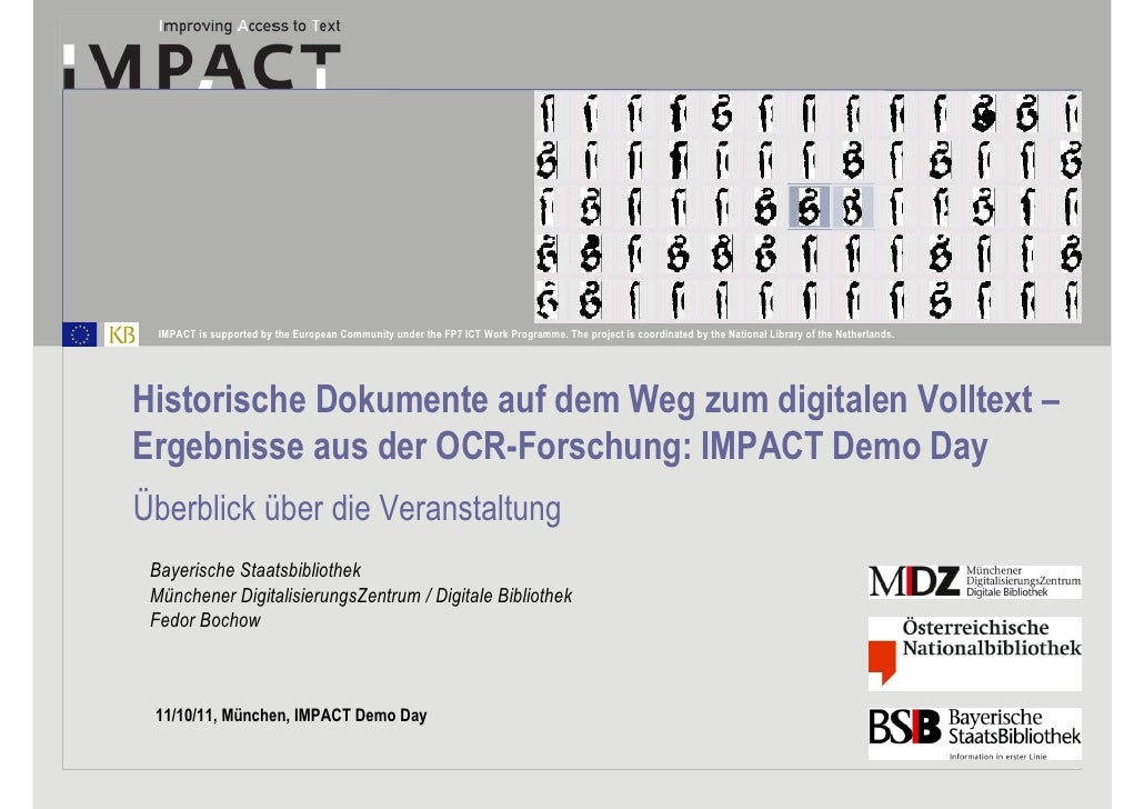 BSB Demo Day - Bochow - Einführung
