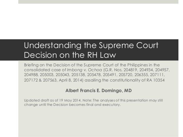 rh bill law summary