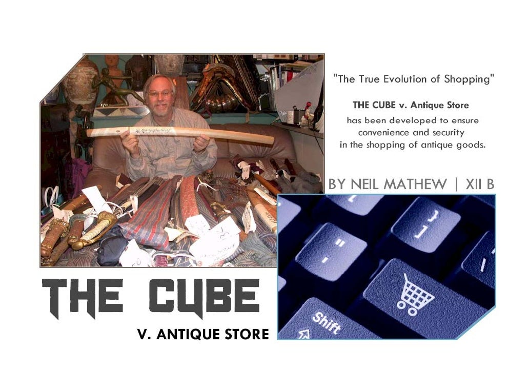 THE CUBE: Antique Store