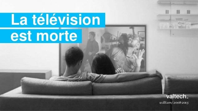 w.illi.am/ 2008-2015 La télévision est morte