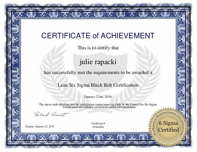 Six Sigma Certification | Lean Six Sigma | IFQIndia, Pune