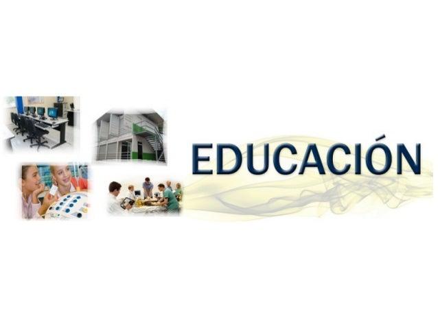 Productos y servicios Educación