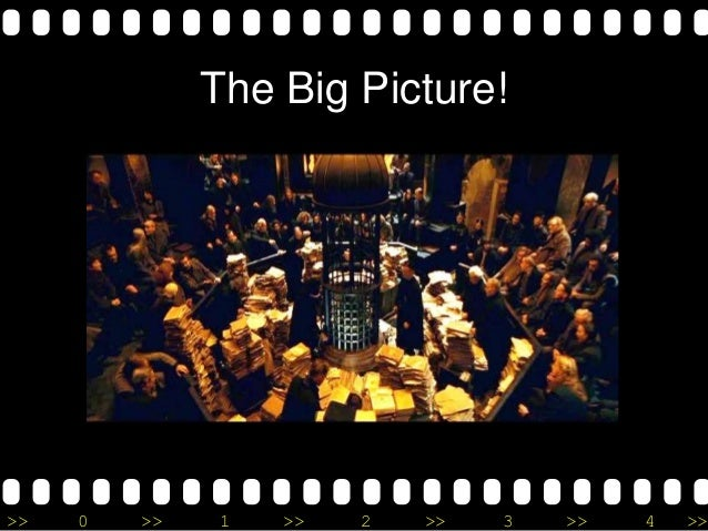 >> 0 >> 1 >> 2 >> 3 >> 4 >> The Big Picture!