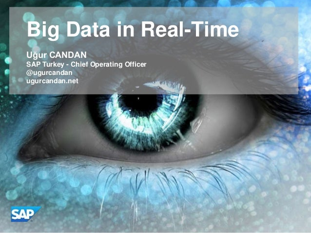 WHY SAP Real Time Data Platform - RTDP