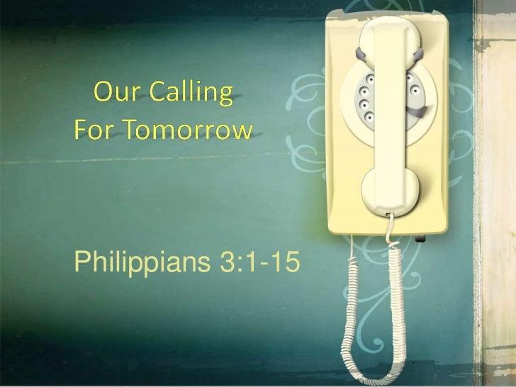 Philippians 3:1-15